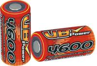 4,600mAh NiMH Battery with 1.2V Voltage and 0.2C to 30A Discharge Current used for RC car