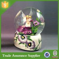 Handmade Fairy Kids Large Snow Globes Wholesale