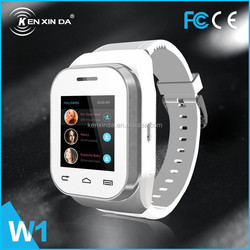 2015 kenxinda smart watch mobile phone Canada cell phone wholesale (W1)