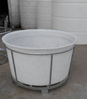 1500 litres plastic vegetable shipping barrels for sale