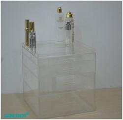 Hot sale acrylic cosmetic organizers