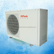 Home heat pump small heating system for family house