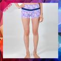 moda fitness yoga serigrafia designer shorts shorts