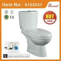 White color P trap S trap ceramic Latin-America toilet WC