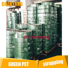 1606 pet supplies Package Green PET Polyester Strap
