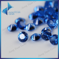 Natural blue colored Sapphire stone deep blue Burma spinel stone