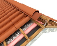 Breathable membrane for industrial roof ventilation