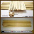 espeto de bambu em bambu espeto