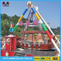 outdoor playground equipment larage and exciting 24 seats pirate ship