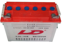 Contemporary hotsell dry batteries in pakistan 6-DG-140 12v