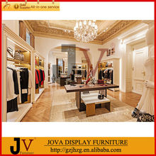 Modern boutique display rack clothes shop furniture