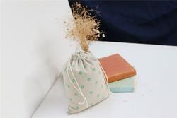 making simple custom handmade cotton linen bag