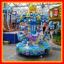 Funny&Happy!theme park rides carousel horses for sale