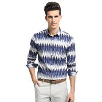 Bulk supply mens cotton printed shirts