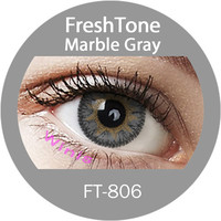 Freshtone impressions marble gray colored cheap contact lenses from china