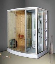 popular New Life Style Home Sauna Cheapest Hemlock Barrel Sauna Room S2070664 1700X1200X2150MM