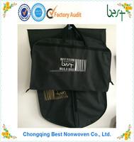 polyester garment bag suit bag foldable