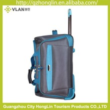 Guangzhou factory cheap price oxford multi-functional trolley duffel bags for wholesale