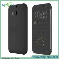 Wholesale High Quality Smart Dot View Case for HTC One M8