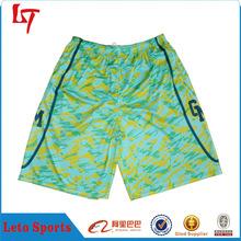 sublimation mens basketball shorts custom camo shorts