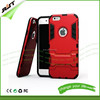 Factory price for iphone 6 cell phone case mix colors TPU PC mobile phone hard armor case for iphone 6