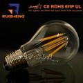 Led A60 E27 6 W 3000 K del globo LED bombilla de filamento