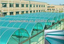 UV coated 100% raw Bayer Makrolon polycarbonate hollow sheet