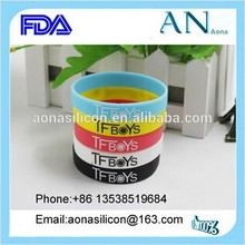 China factory direct manufacturer for silicone Rubber wristband
