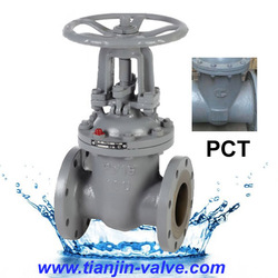 Cheap price gate valve PN16 cast steel long stem gate valves