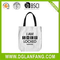 Hot sales organic cotton tote bags wholesale for shopping and promotiom,good quality fast delivery