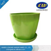 Wholesale bright color plastic flower pot trays rectangular