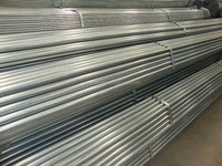 THIN WALL GALVANIZED STEEL 6 INCH PIPE IN STOCK