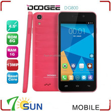 DOOGEE Valencia DG800 8GB Purple 4.5 inch 3G Android 4.4.2 Smart Phone Dual SIM doogee phone