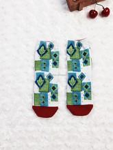 Baby solar cherry tree socks 3d cartoon animal pattern socks made in China