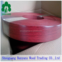 PVC edge banding solid color, unicolor, for MDF, particle board, chipboard, plywood