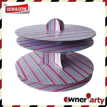 High Quality Popular 2 Tier Cupcake Stand