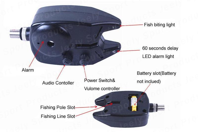 Waterproof Fishing Bite Alarm