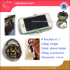 Epoxy Doom Filp Folding Versatile 4 Function in 1 Holder for Handbag Purse Bag Cell Mobile Phone Bag Accessories Cosmetic Mirror