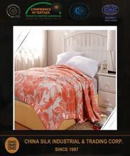 100% Pure Silk Throw Blanket