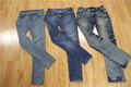 Atacado reciclado homens calça jeans usado