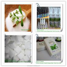 Natural Sweetener E960 stevia sugar cube,stevia sugar liquid,plant extract stevia extract tablet