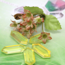 wholesale price of natural transparent stone .different color on both sides crystal tourmaline CHP1091-B