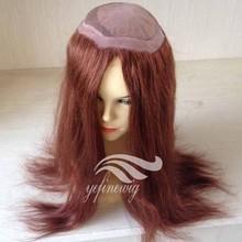Fashionable High Quality Human Hair Toupee Base for Women
