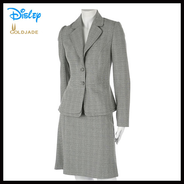 Oem women office uniform style designs for women for for Office uniform design 2014