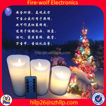 Top Quality Candle Wholesale Christmas Led Light Led Art Candle