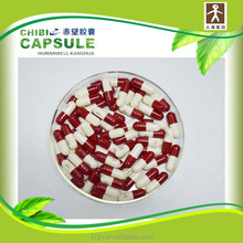 Offers empty color capsules with various size 0,1,2,3,4