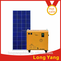 2015 hot 1000W Pure sin portable solar power generator DC to AC system