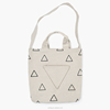 travel use heavy canvas tote bag with long strap