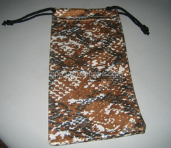 Low Cost Promotional Customized Microfiber Eyeglasses Pouch