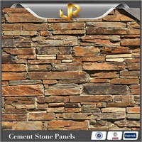 Natural slate Cement Culture Stone For Wall Panel